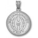 """Troy State Trojans """"Seal"""" Pendant - Sterling Silver Jewelry"""