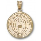 """Troy State Trojans """"Seal"""" Pendant - 14KT Gold Jewelry"""