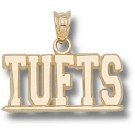 """Tufts Jumbos """"Tufts"""" Pendant - 14KT Gold Jewelry"""