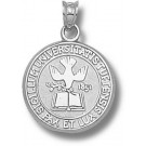 """Tufts Jumbos """"Seal"""" Pendant - Sterling Silver Jewelry"""