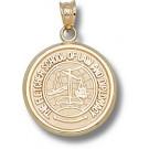 "Tufts Jumbos ""Fletcher Law School"" Pendant - 10KT Gold Jewelry"