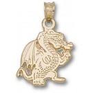 """Alabama (Birmingham) Blazers """"Full Dragon Body"""" Pendant - 14KT Gold Jewelry"""