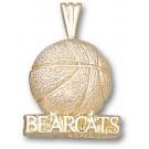"Cincinnati Bearcats ""Bearcats Basketball"" Pendant - 10KT Gold Jewelry"