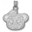 "California (Berkeley) Golden Bears ""Oski Bear"" Pendant - Sterling Silver Jewelry"