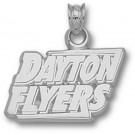 """Dayton Flyers """"Dayton Flyers"""" Pendant - Sterling Silver Jewelry"""