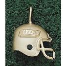 """Dayton Flyers """"Flyers Helmet"""" Pendant - 14KT Gold Jewelry"""