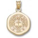 "Dayton Flyers ""Seal"" Pendant - 14KT Gold Jewelry"