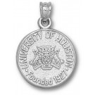 """Houston Cougars """"Seal"""" 5/8"""" Pendant - Sterling Silver Jewelry"""