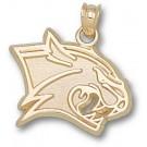 "New Hampshire Wildcats New ""Wildcat Head"" 5/8"" Pendant - 14KT Gold Jewelry"
