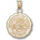 "Las Vegas (UNLV) Runnin' Rebels ""Seal"" Pendant - 14KT Gold Jewelry"