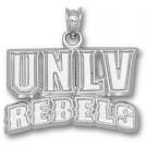 "Las Vegas (UNLV) Runnin' Rebels ""UNLV Rebels"" Pendant - Sterling Silver Jewelry"
