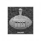 "Las Vegas (UNLV) Runnin' Rebels ""UNLV Football"" Pendant - Sterling Silver Jewelry"