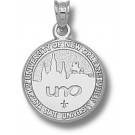 """New Orleans Privateers """"Seal"""" Pendant - Sterling Silver Jewelry"""