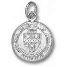 """Pittsburgh Panthers """"Seal"""" 1/2"""" Charm - Sterling Silver Jewelry"""