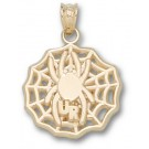 """Richmond Spiders """"UR Spider Web"""" Pendant - Gold Plated Jewelry"""