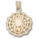 "Richmond Spiders ""UR Spider Web"" Pendant - 14KT Gold Jewelry"