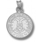 """Air Force Academy Falcons """"Seal"""" Pendant - Sterling Silver Jewelry"""