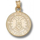 "Air Force Academy Falcons ""Seal"" Pendant - 14KT Gold Jewelry"