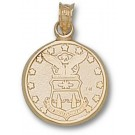 Air Force Academy Falcons Crest Pendant - 14KT Gold Jewelry