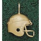 "Air Force Academy Falcons 3-D ""Falcons Helmet"" Pendant - 10KT Gold Jewelry"