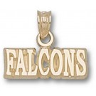"Air Force Academy Falcons ""Falcons"" Pendant - 14KT Gold Jewelry"