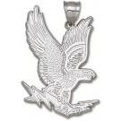 "Air Force Academy Falcons Giant 1 5/8"" W x 2 1/4"" H ""Falcon"" Pendant -Sterling Silver Jewelry"