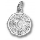 """South Florida Bulls """"Seal"""" 1/2"""" Charm - Sterling Silver Jewelry"""