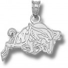 "Navy Midshipmen ""Action Goat"" Pendant - Sterling Silver Jewelry"