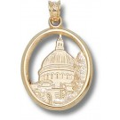 "Navy Midshipmen ""Chapel Dome"" Pendant - 14KT Gold Jewelry"