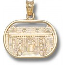 "Navy Midshipmen ""Bancroft Hall"" Pendant - 14KT Gold Jewelry"