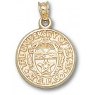 "UTEP Texas (El Paso) Miners 5/8"" ""Seal"" Pendant - 10KT Gold Jewelry"