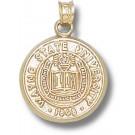 "Wayne State Warriors ""Seal"" Pendant - 14KT Gold Jewelry"