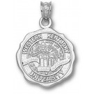 "Western Kentucky Hilltoppers ""Seal"" Pendant - Sterling Silver Jewelry"
