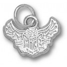 """Rice Owls New """"Rice Flying Owl"""" 3/8"""" Charm - Sterling Silver Jewelry"""