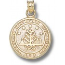 "Western Michigan Broncos ""Seal"" Pendant - 14KT Gold Jewelry"