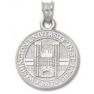 "Washington (St. Louis) Bears 5/8"" Seal Pendant - Sterling Silver Jewelry"