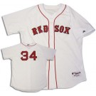 David Ortiz Boston Red Sox #34 Authentic Majestic MLB Baseball Jersey (Home)