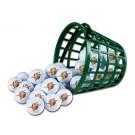 Golden State Warriors Golf Ball Bucket (36 Balls)