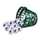 Miami Heat Golf Ball Bucket (36 Balls)