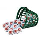 Calgary Flames Golf Ball Bucket (36 Balls)