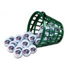 Columbus Blue Jackets Golf Ball Bucket (36 Balls)