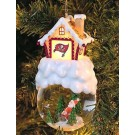 "Tampa Bay Buccaneers ""Home Sweet Home"" Santa Ornament"