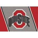 "Ohio State Buckeyes (Red O) 22"" x 33"" Team Door Mat"