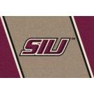 "Southern Illinois Salukis ""SIU"" 2'8""x 3'10"" Team Spirit Area Rug"
