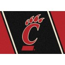 "Cincinnati Bearcats 2'8""x 3'10"" Team Spirit Area Rug"
