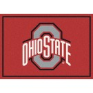 "Ohio State Buckeyes ""Gray O"" 5'4""x 7' 8"" Team Spirit Area Rug"