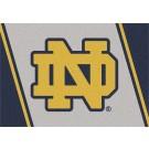 "Notre Dame Fighting Irish ""ND"" 5' 4"" x 7' 8"" Team Spirit Area Rug"