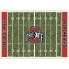 "Ohio State Buckeyes 5' 4"" x 7' 8"" NCAA Home Field Area Rug"