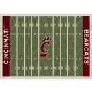 """Cincinnati Bearcats 5' 4"""" x 7' 8"""" NCAA Home Field Area Rug"""