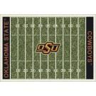 "Oklahoma State Cowboys 7' 8"" x 10' 9"" NCAA Home Field Area Rug"